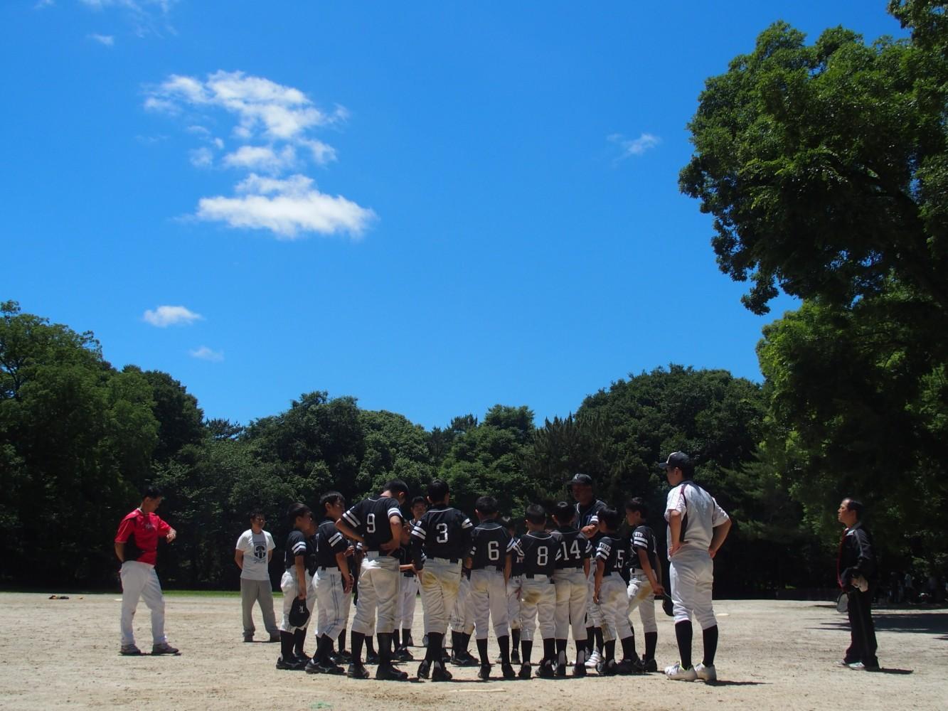 ランダウンプレーと3人のキャッチャーと塁審講習