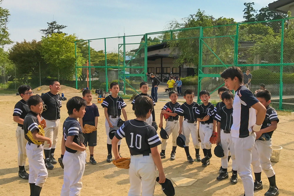 現役大学生臨時コーチ登場!