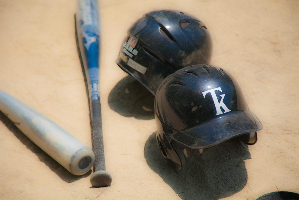 京都 少年野球チーム TKドラゴンズ ヘルメットイメージ2
