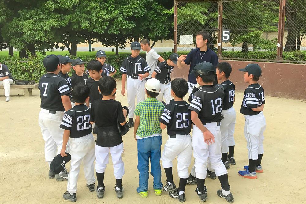 京都 少年野球チーム TKドラゴンズファームチーム