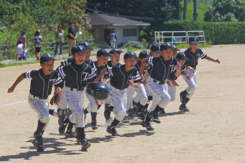 京都 少年野球チーム TKドラゴンズ Bチーム出陣