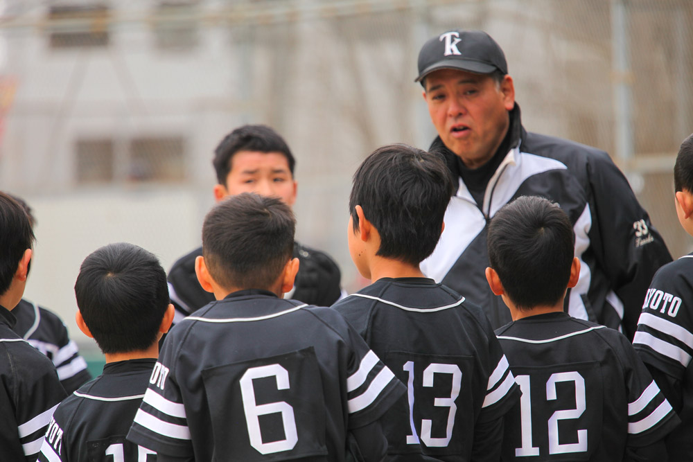 TK野球塾開始!