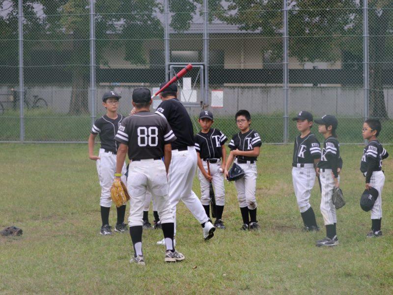 「のんびり野球から・・・」